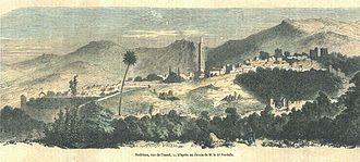 Nedroma - A historical depiction of Nedroma