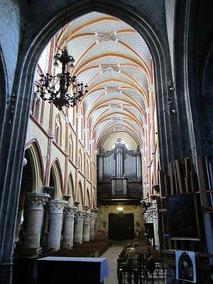 Church of Notre-Dame de Louviers - Nave, Notre-Dame de Louviers