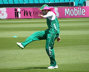 Neil McKenzie - Neil McKenzie training at the Sydney Cricket Ground in January 2009