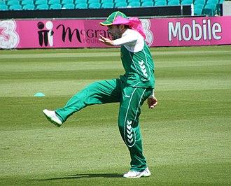Neil McKenzie - Neil McKenzie training at the Sydney Cricket Ground in January 2009