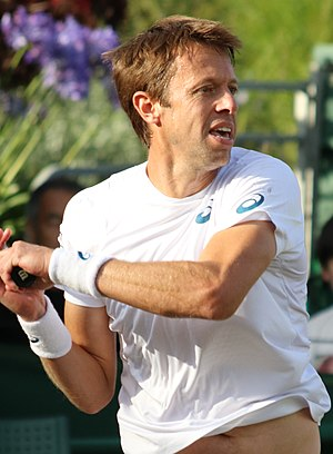 Daniel Nestor - Nestor at the 2017 Wimbledon Championships