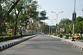 Netaji Subhash Chandra Bose International Airport Entrance Road - Dum Dum - Kolkata 2012-04-11 9426.JPG