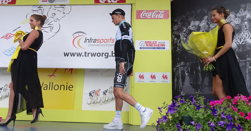Neufchâteau - Tour de Wallonie, étape 3, 28 juillet 2014, arrivée (E12).JPG
