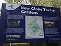 New Globe Tavern Gardens information board (1) - geograph.org.uk - 1530279.jpg