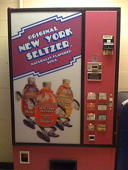 New York Seltzer's dispenser