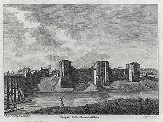 Newport Castle, Monmouthshire