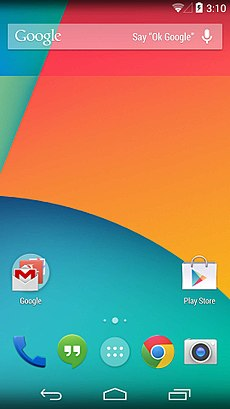 Nexus 5 (Android 4.4.2) Screenshot