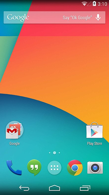 Android 4.4.2 界面
