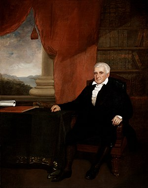 Brown University - Nicholas Brown, Jr., founder of the Providence Athenaeum, co-founder of Butler Hospital, philanthropist, progressive, and abolitionist. Following his major gift in 1804, the College was renamed Brown University. Painting by Chester Harding, 1836