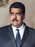 Nicolás Maduro, president of Venezuela (2016) cropped.jpg