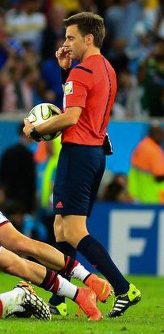 Nicola Rizzoli - Rizzoli during the 2014 FIFA World Cup Final