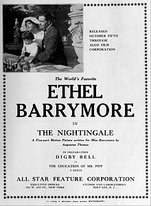 the nightingale 1914 film wikipedia. Black Bedroom Furniture Sets. Home Design Ideas