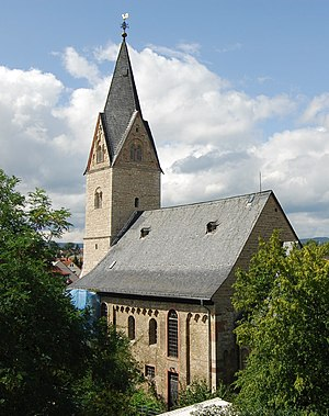 Bierstadt - Image: Nikolauskirche WB
