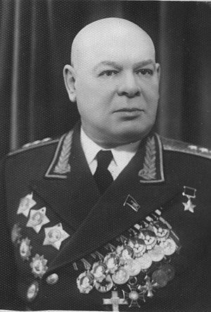 Nikolay Pukhov - Image: Nikolay Pukhov in the 1950s