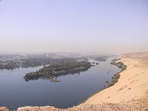 River Nile at Aswan, taken by Tbachner