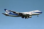 "Nippon Cargo Airlines - NCA Boeing 747-281F-SCD JA8188 ""Indy Japan 300"" sticker (23789784100).jpg"
