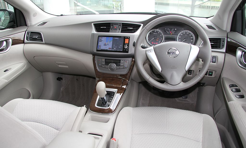File Nissan Sylphy B17 G Interior Jpg Wikimedia Commons