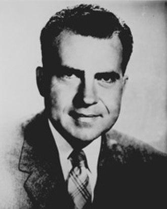 California's 12th congressional district - Image: Nixon while in US Congress