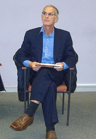 Norman Finkelstein - Finkelstein at the University of Leeds, England in 2009.