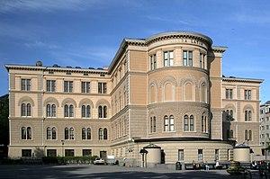 Norra Latin - Norra Latin, façade on Norra Bantorget.
