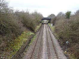 North Filton Platform railway station (site), Gloucestershire (geograph 5724225).jpg