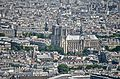 Notre Dame Cathedral from the Tour Montparnasse, Paris May 2014.jpg