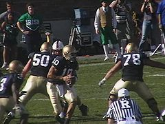 b055632a2 The team in their current home uniforms. Notre Dame s ...