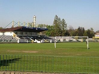 Sandecja Nowy Sącz - Stadium of Sandecja Nowy Sącz