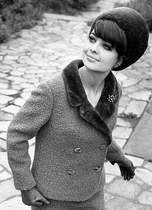 Nutria fur - Nutria (plucked), hat and collar, 1966
