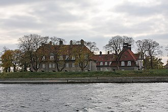 Holmen, Copenhagen - The Barracks at Nyholm