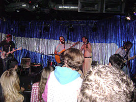 O'death at the Spaceland in Los Angeles 2008.jpg