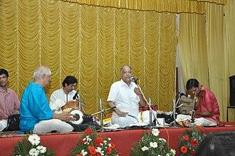 Umayalpuram K. Sivaraman - Umayalpuram K. Sivaraman with O. S. Thyagarajan