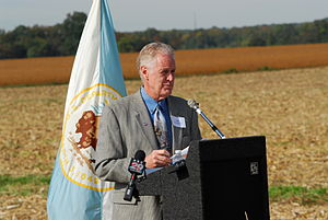 Civil War Trust - Jim Lighthizer at Slaughter Pen Farm