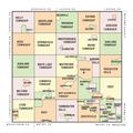 Oakland County MI Map (political boundaries).png