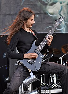 Obscura, Christian Muenzner at Party.San Metal Open Air 2013.jpg
