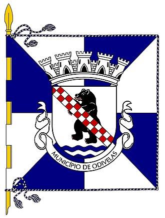 Odivelas - Image: Odivelas bandeira 1