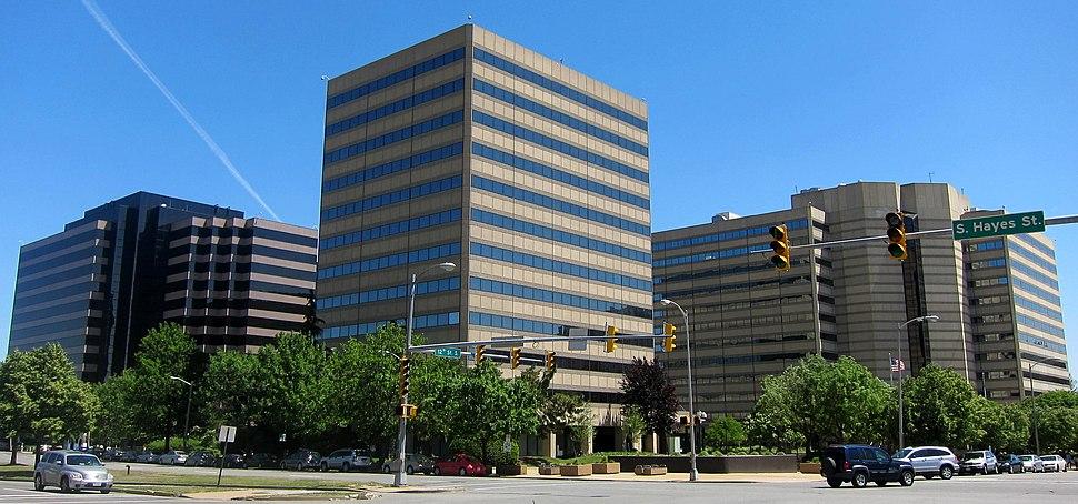 Office buildings in Pentagon City