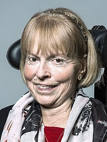 Official portrait of Baroness Campbell of Surbiton crop 2.jpg