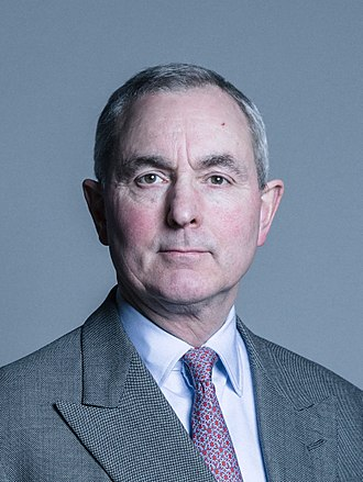 Robin Cayzer, 3rd Baron Rotherwick - Image: Official portrait of Lord Rotherwick crop 2
