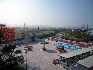 Ōizumi Station (Fukushima) Railway station in Date, Fukushima Prefecture, Japan