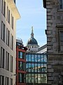 Old Bailey building from Barts, City of London, England.jpg