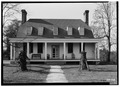Old Mansion, State Route 2 vicinity, Bowling Green, Caroline County, VA HABS VA,17-BOGR,1-1.tif