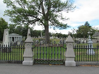 Old North Cemetery (Concord, New Hampshire) - Image: Old North Cemetery 7891