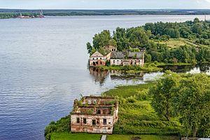 Usolsky District, Perm Krai - Old houses, Usolsky District