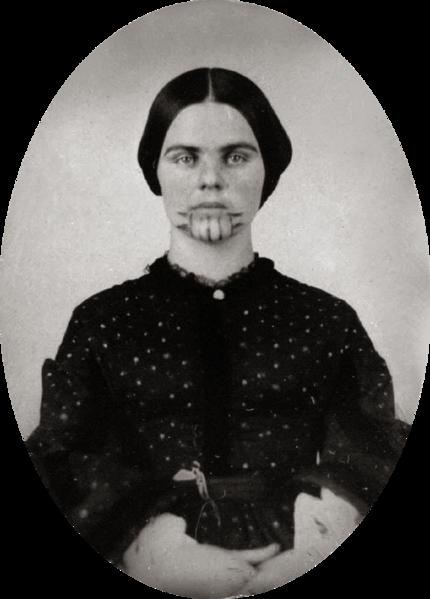 File:Olive Oatman, 1857.png