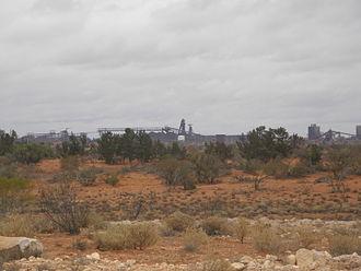Olympic Dam mine - Main shafts, 2009