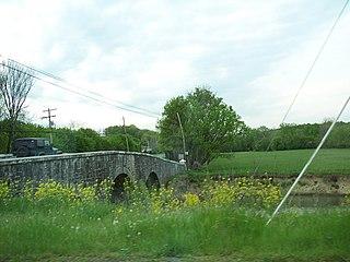 Van Metre Ford Stone Bridge A historic stone arch bridge located near Martinsburg, Berkeley County, West Virginia