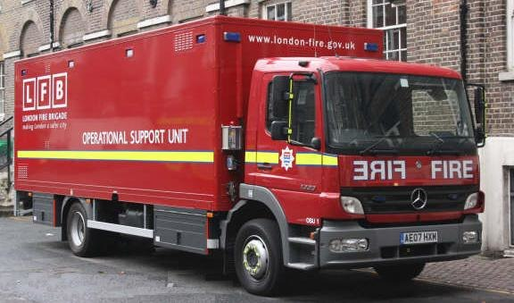 Operational Support Unit (London Fire Brigade, 2007)