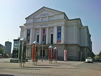 Theater Magdeburg - Opera house