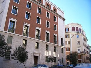 Opus Dei central headquarters in Rome